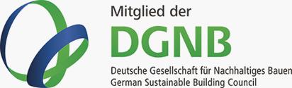 Wir sind Mitglied in der DGNB - Deutsche Gesellschaft für Nachhaltiges Bauen